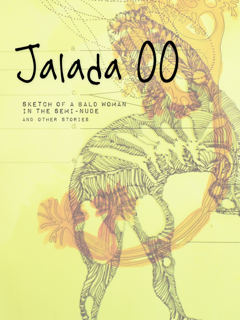 Jalada #00:  Sketch of a bald woman in the semi-nude and other stories